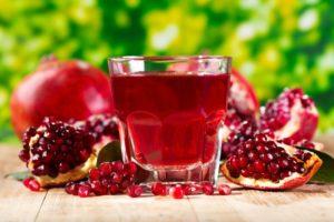 Гранатовый сок: калорийность