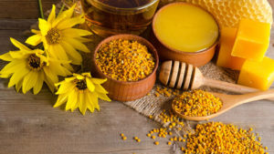 Использование пчелиной пыльцы в косметологии