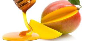 Маска из манго и мёда