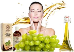 Применение масла из виноградных косточек для лица, тела и волос