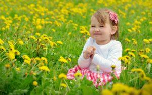 Применение пыльцы детям