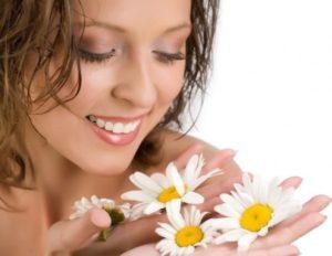 Применение ромашки в косметологии