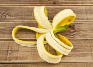 Банановая кожура - полезные свойства