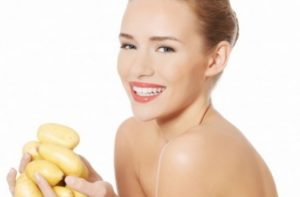 Картофельный сок в косметологии