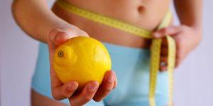 Лимон при похудении