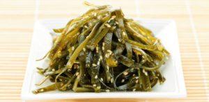 Морская капуста ламинария: особенности применения в кулинарии