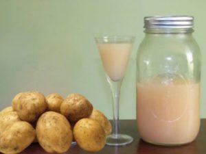 Некоторые правила лечения соком картофеля