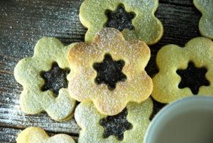 Песочное печенье с матча