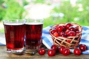 Польза вишневого компота