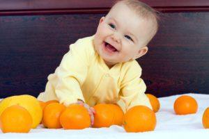 Польза мандаринов для детей