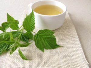 Рецепты с листьями малины