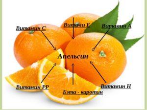 Состав и польза апельсина