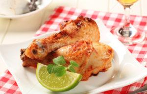 Цыпленок с лаймом