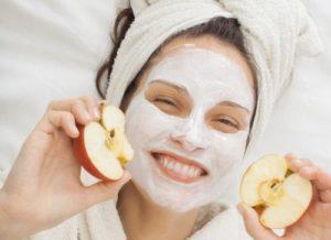 Яблоки в домашней косметологии