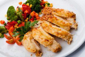 Рецепт филе индейки с овощами
